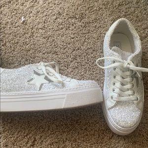 Steve Madden Prized Glitter Multi Shoes